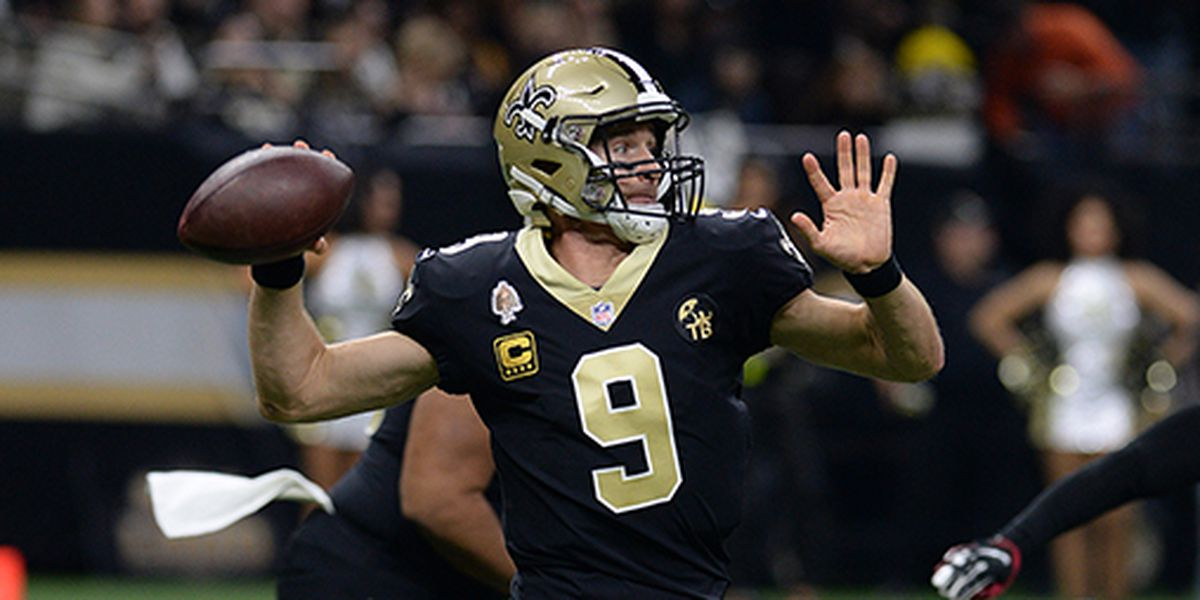 Saints open as 10-point favorites over the Bucs