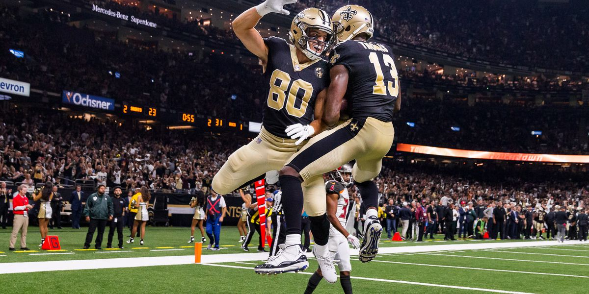 WR Austin Carr among inactives for Saints-Texans game