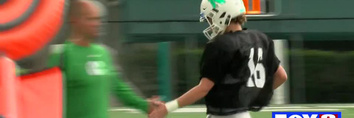 Newman QB Arch Manning throws 4 TD's against Hannan in scrimmage
