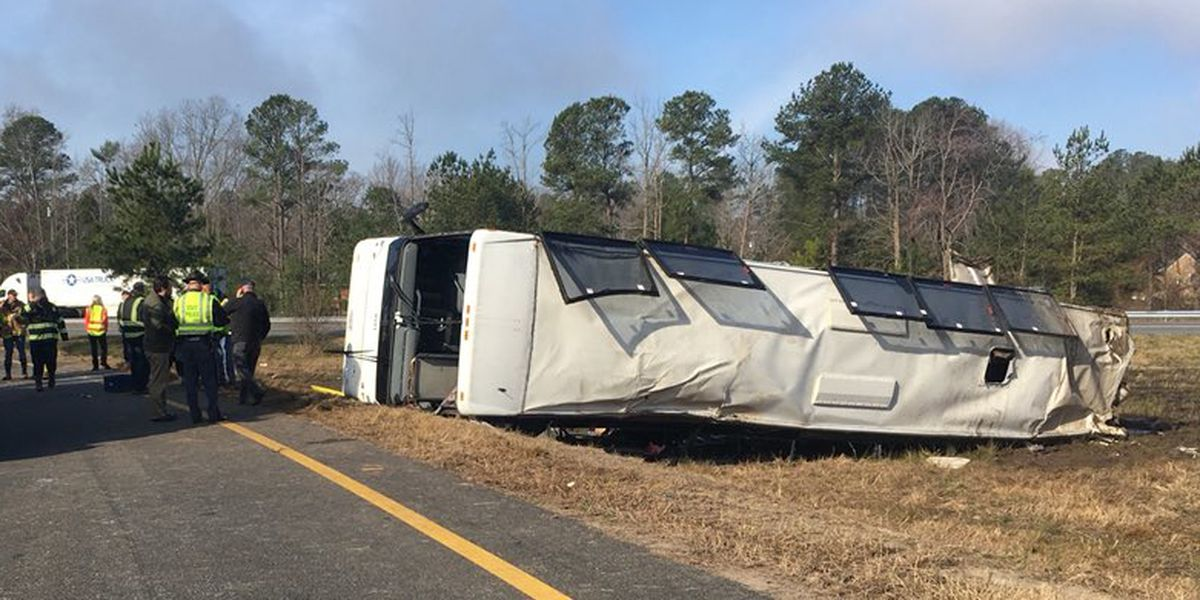 I-95 bus crash victims identified; driver released on bond