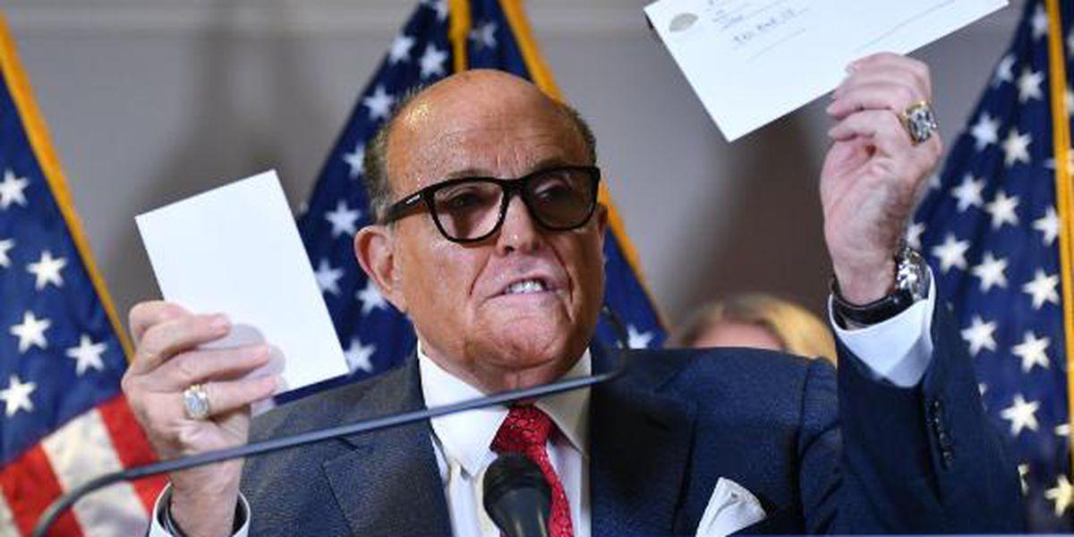 NY Times, Washington Post, NBC correct articles on Giuliani