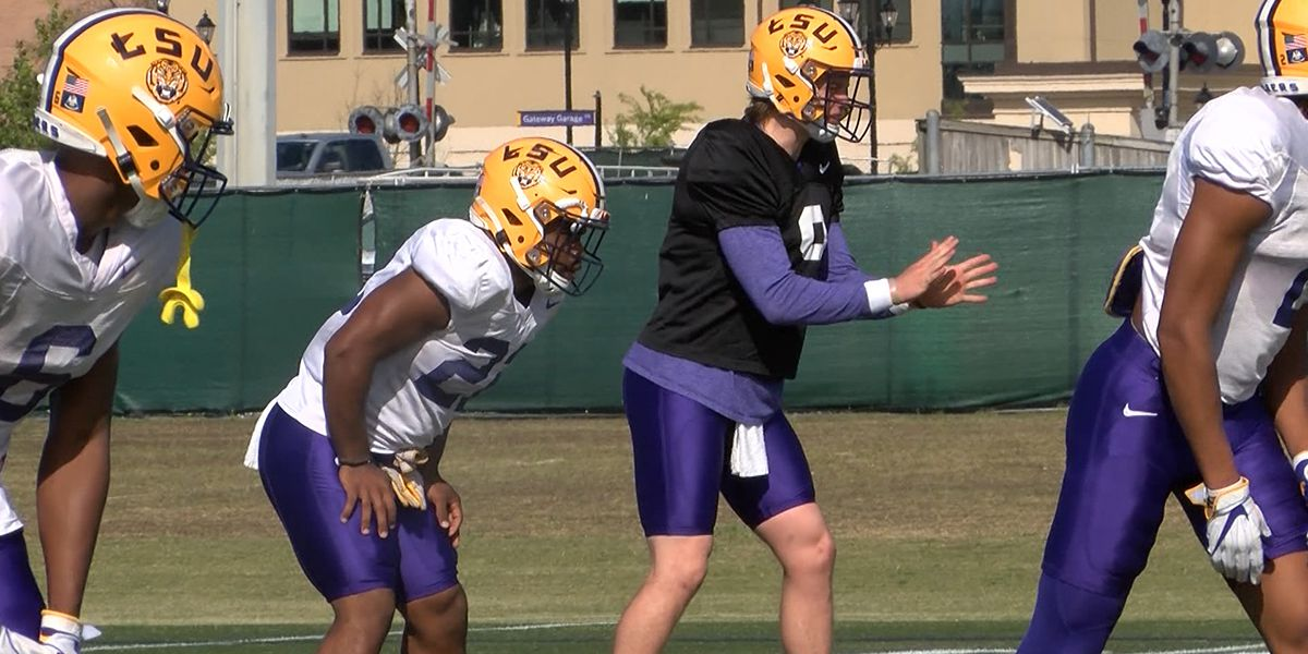 LSU holds final practices before spring game