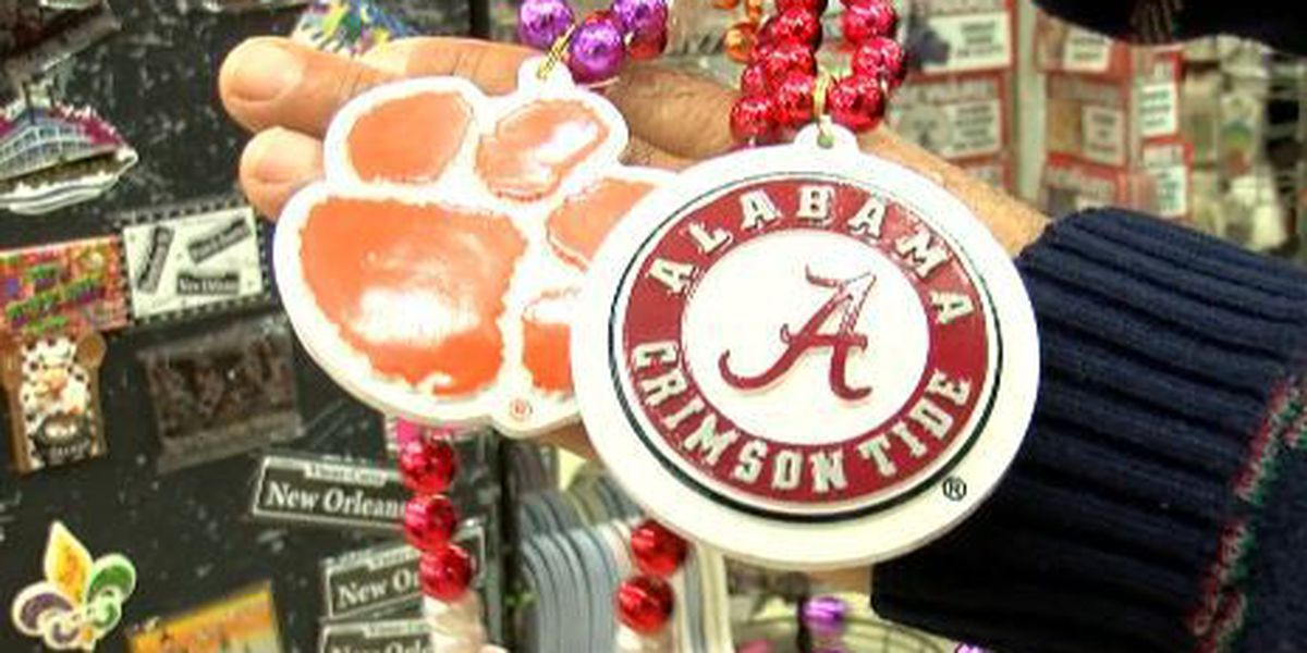 Tigers and Tide pour into French Quarter