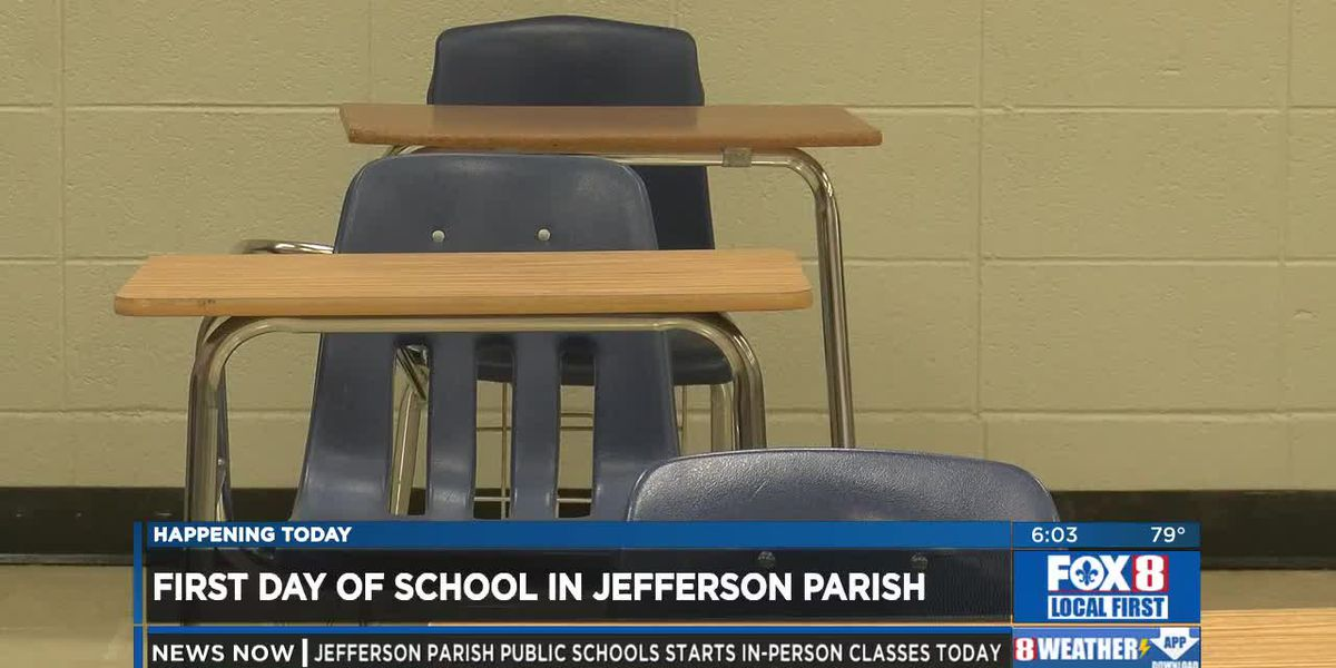 Jefferson Parish students return to in-person learning