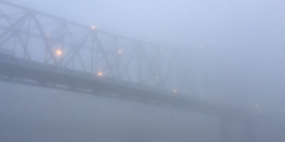 Some commuters still dealing with heavy fog, spotty showers