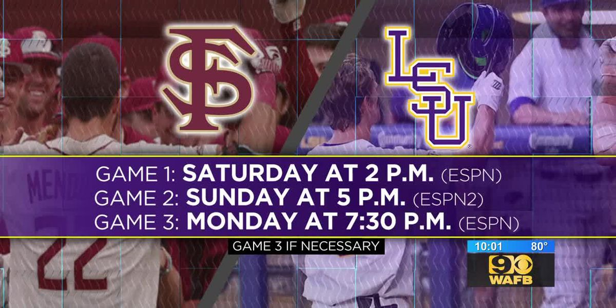 LSU fans hype ahead of Super Regional against Florida State