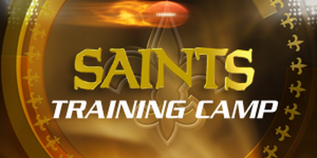 Saints report to training camp 7/25