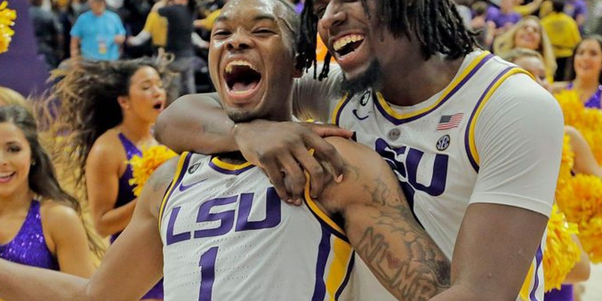 8969eb5b928 LSU earns the 3-seed in the NCAA Tournament, plays Yale on Thursday
