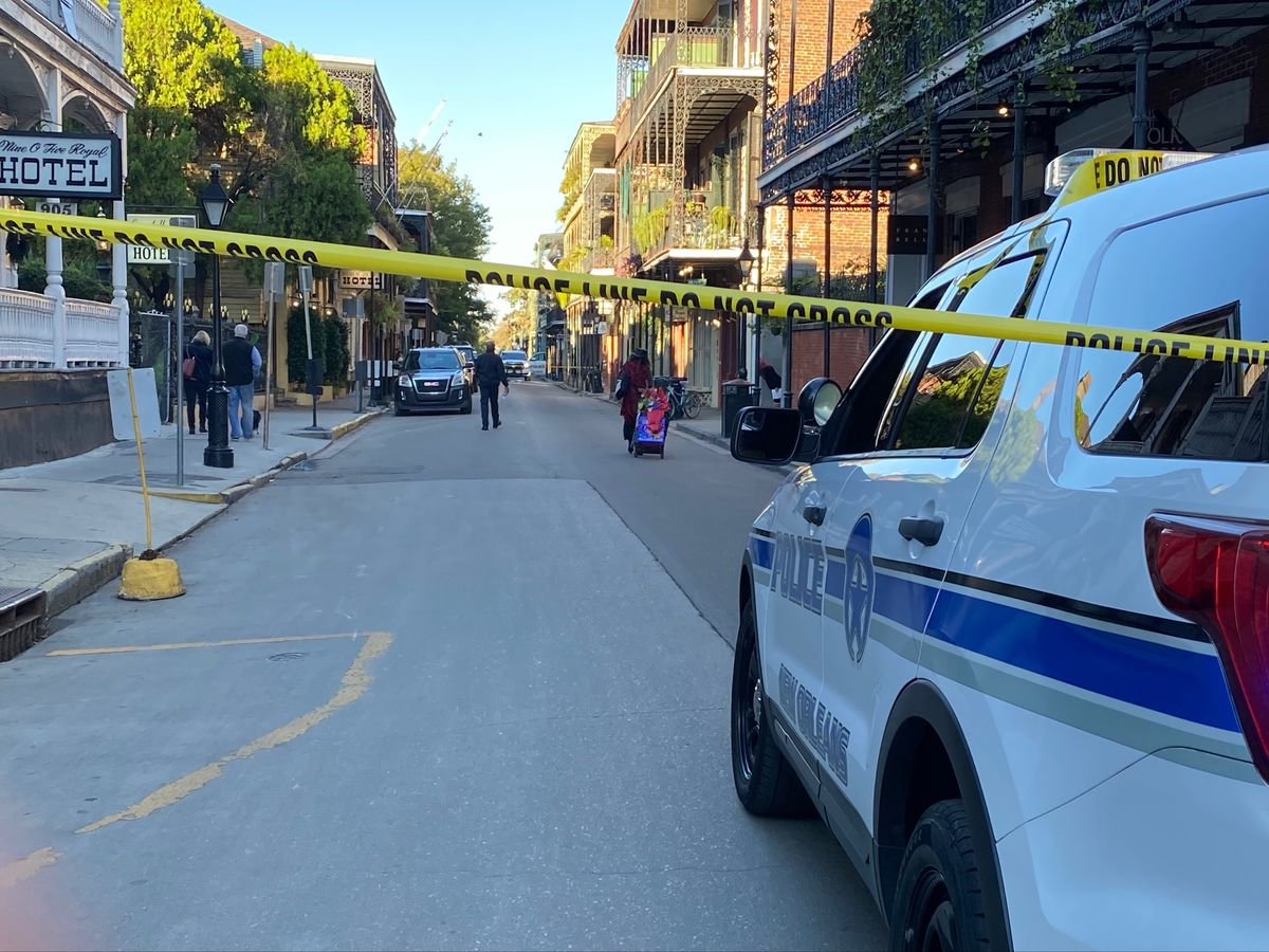 New Orleans police officer shot in French Quarter, rushed to hospital; suspect apprehended