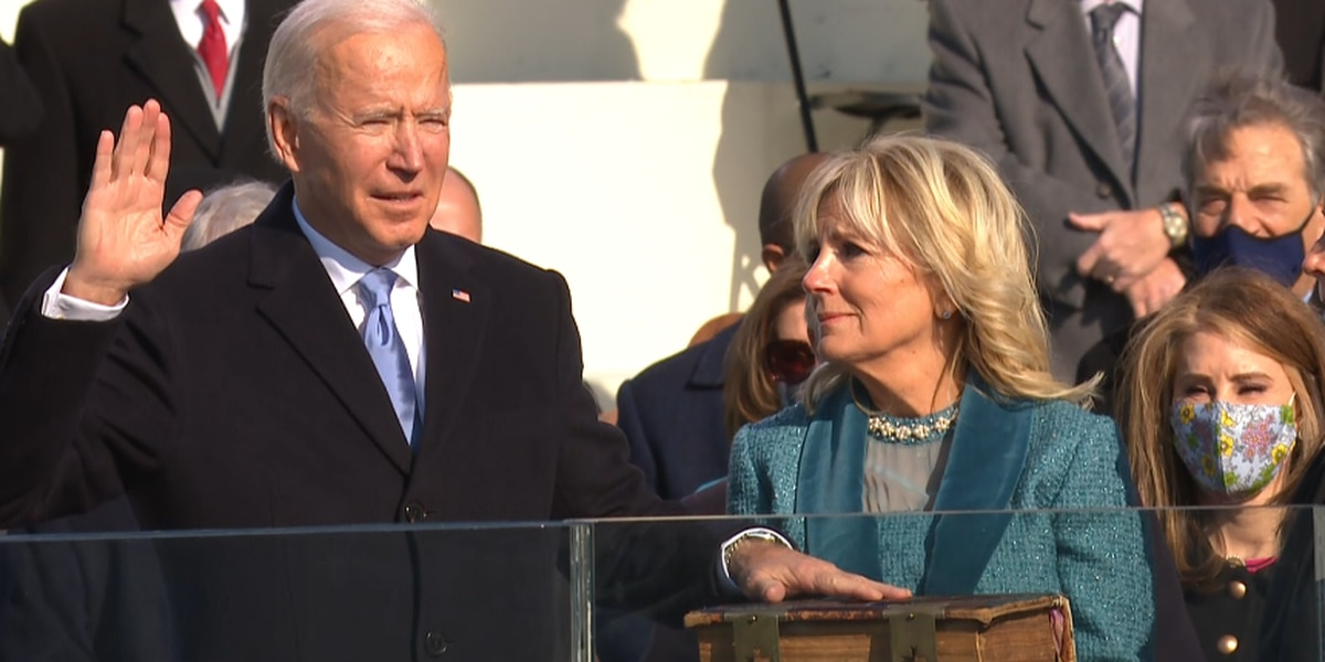 Gov. Edwards among Louisianans who attended the inauguration; AKA sorority proud of Harris' achievement