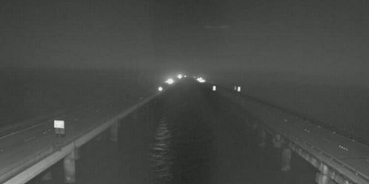 Traffic Now: Fog advisory issued for the Lake Pontchartrain Causeway