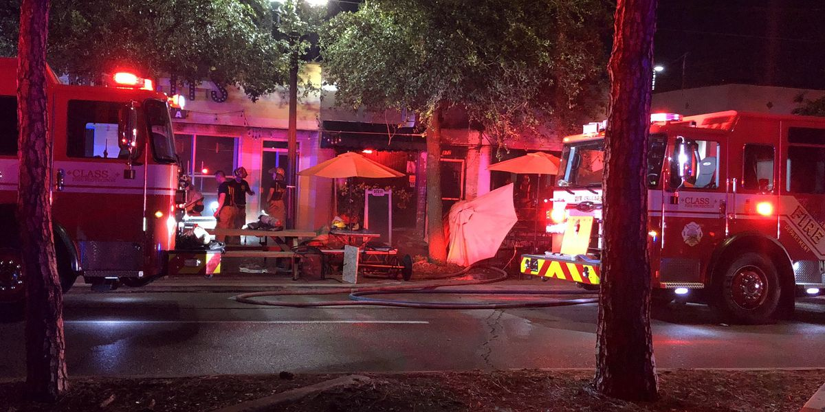 IMAGES: Parlay's Bar destroyed by overnight fire; owner says he will rebuild