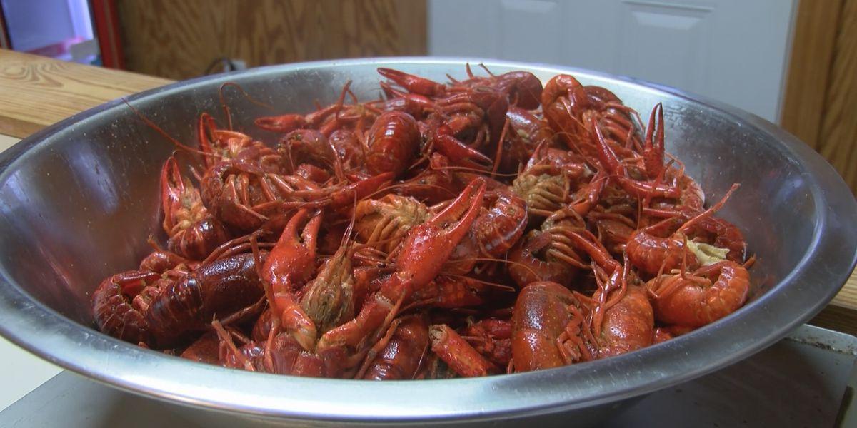 Good Friday crawfish sales are brisk