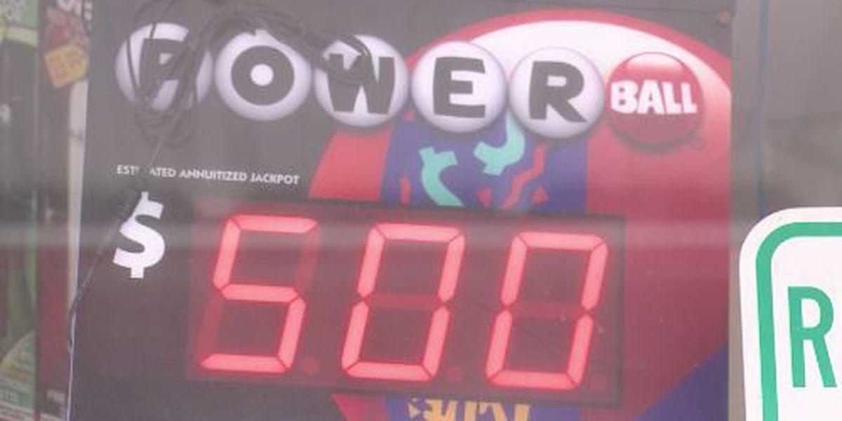Powerball jackpot climbs to $500 million