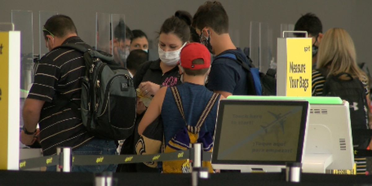 Airport officials cautiously optimistic as number of passengers slowly increase