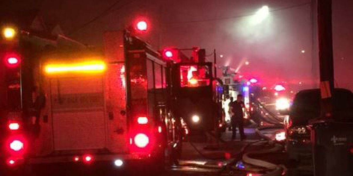 3-alarm fire consumes abandoned house in 7th Ward