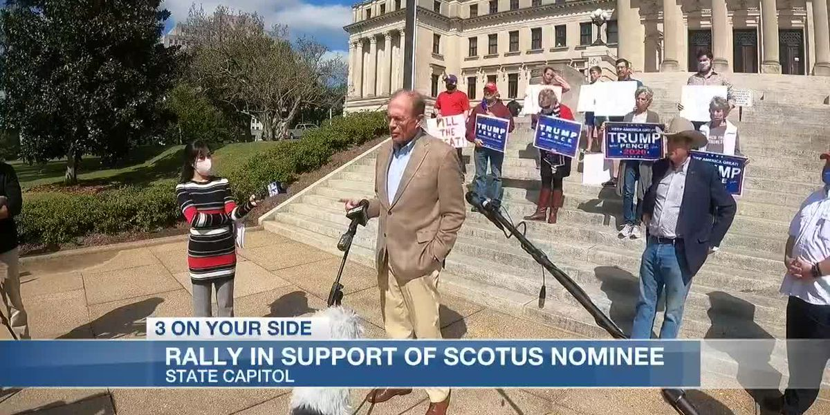 Miss. Republicans host rally in support of SCOTUS nominee