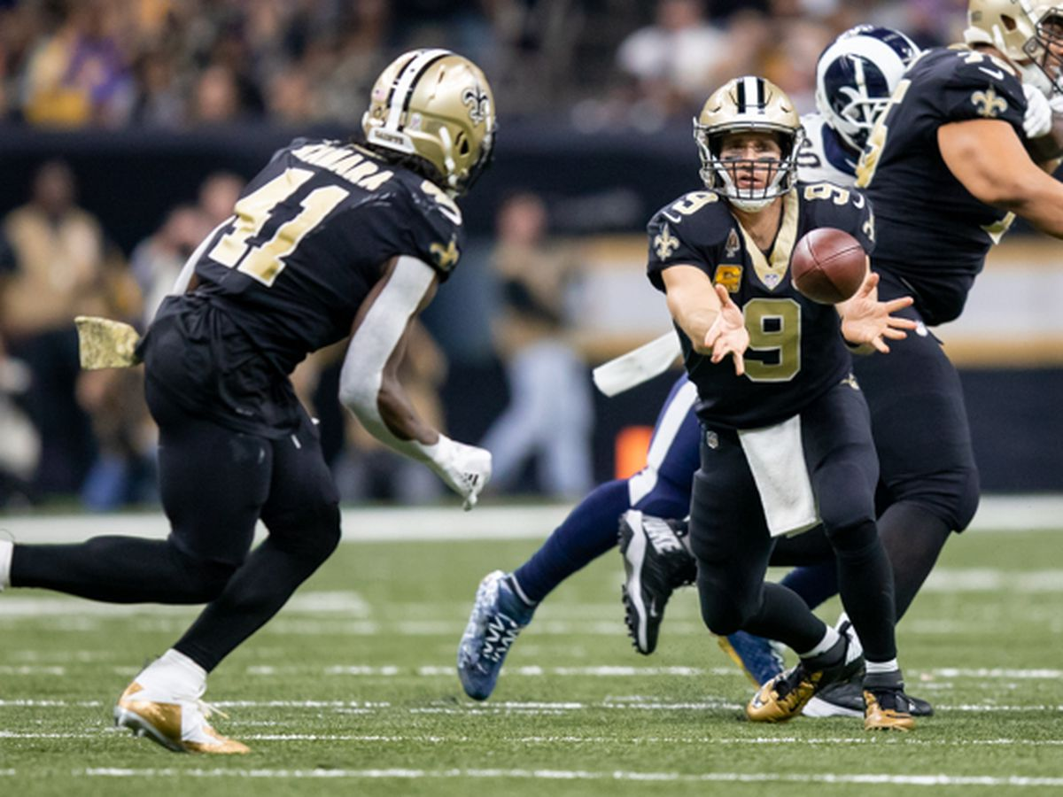 Saints open as 3-point favorites over the Rams