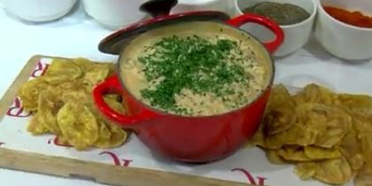 Chef John Folse: Spicy plantation seafood dip