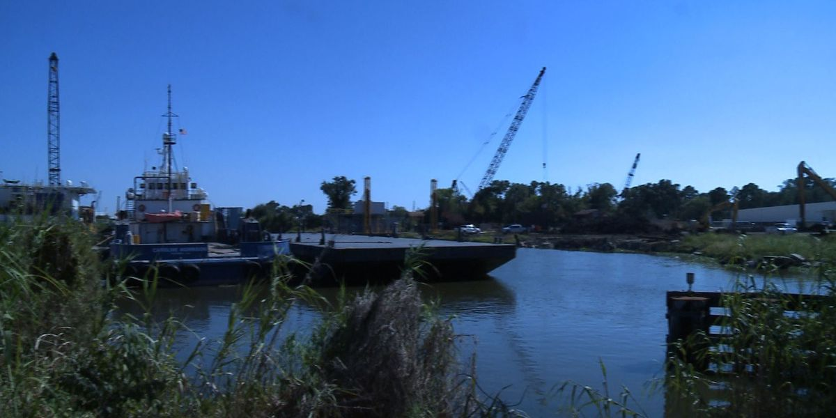 Port of Terrebonne seeks funding to dredge canal