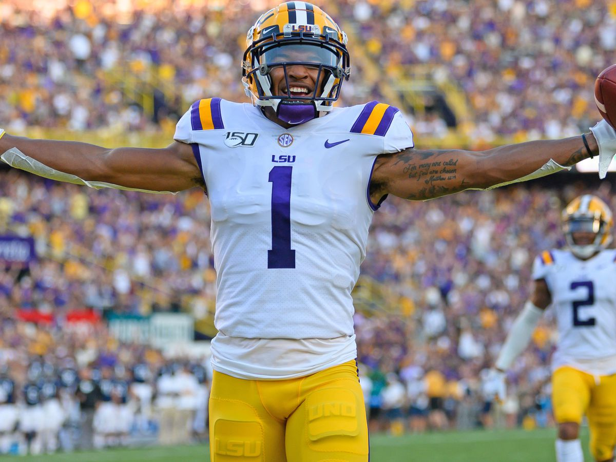 LSU WR Ja'Marr Chase named SEC Offensive Player of the Week