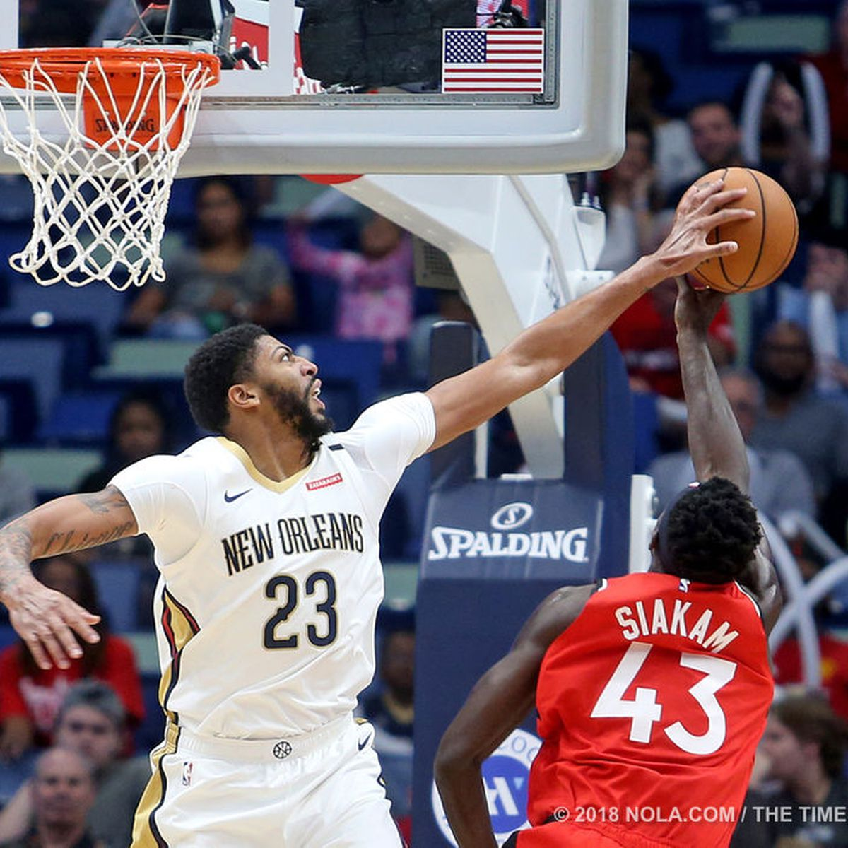 Pelicans hand Raptors first home loss of the season
