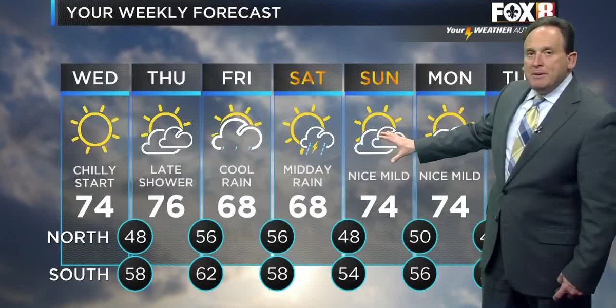 Bruce: Wednesday Afternoon Forecast