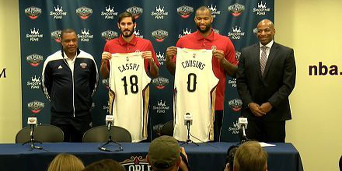 DeMarcus Cousins and Pelicans excited to embark on journey together