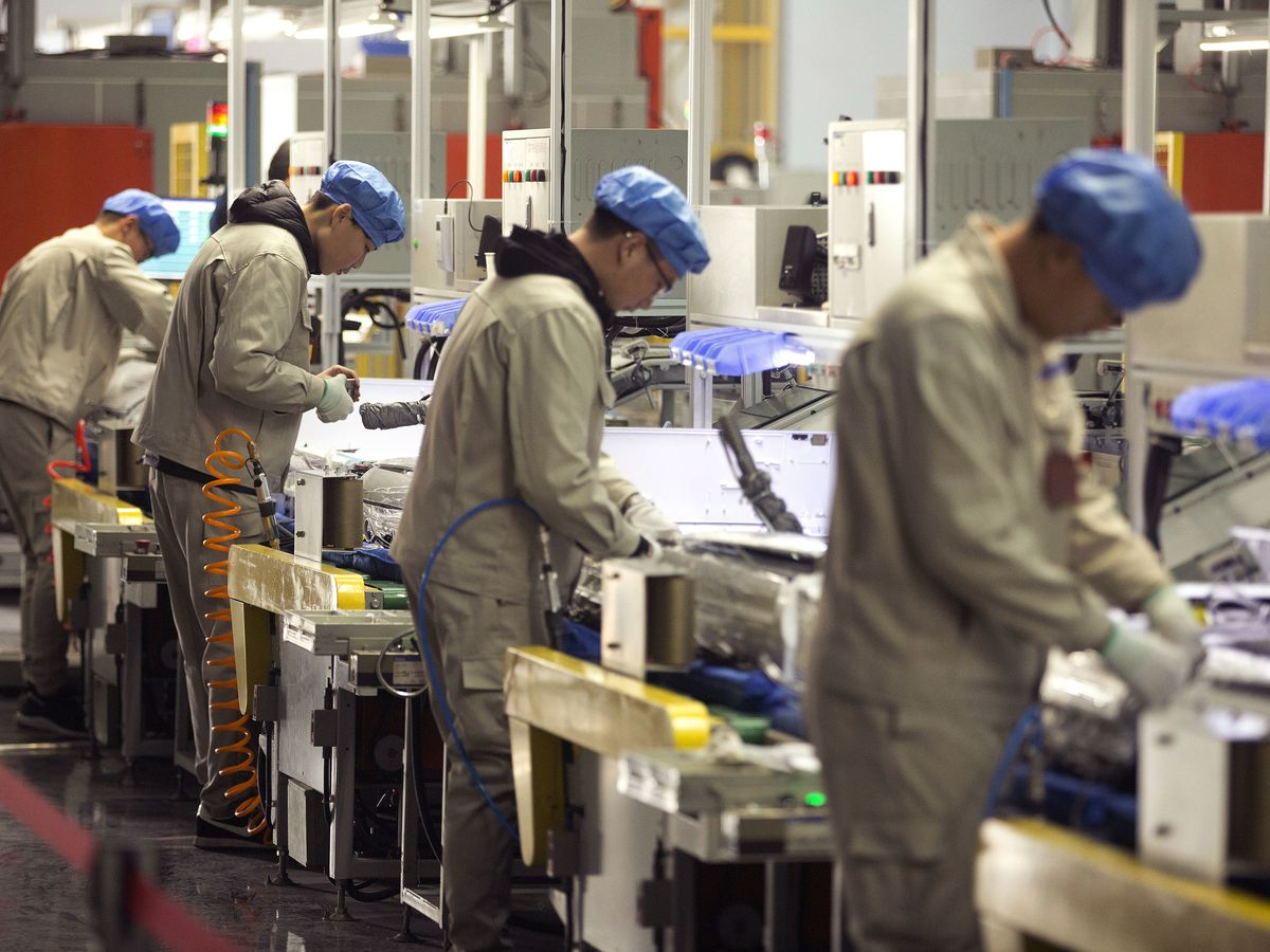 China factory activity shrinks for the first time in 2 years