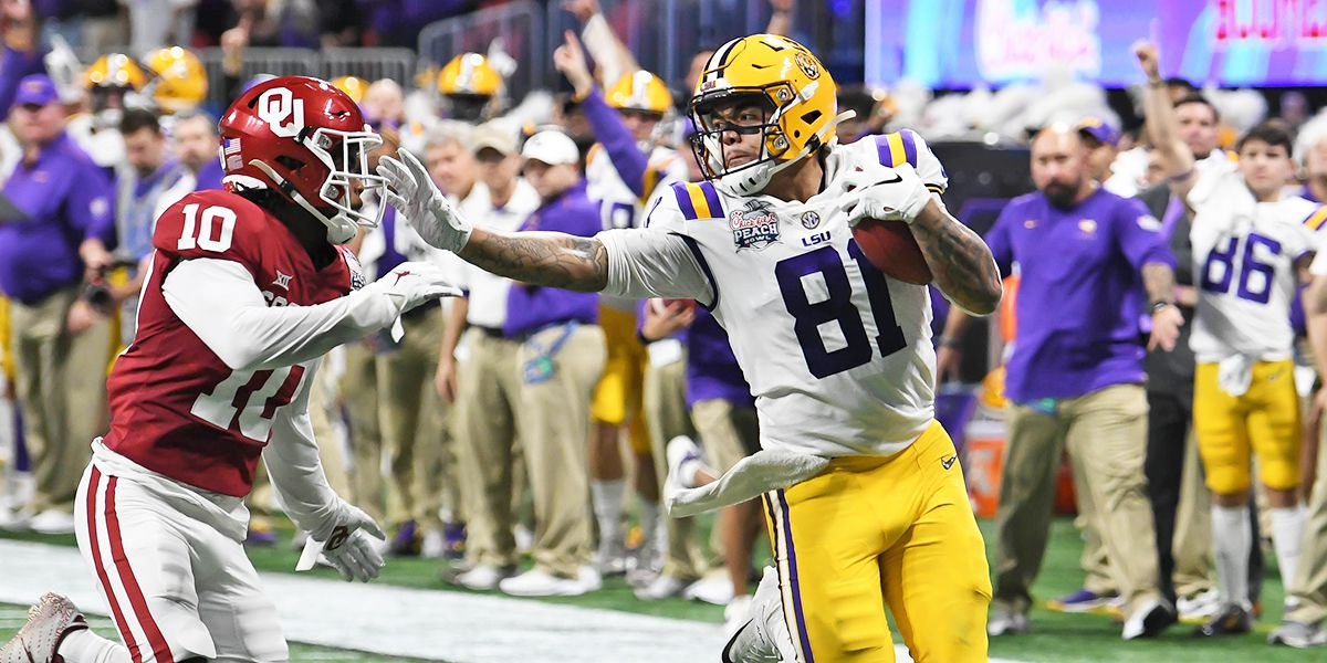 LSU tight end Thaddeus Moss becomes 9th Tiger to declare for NFL draft