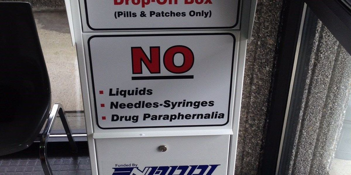 Health insurer, law enforcement hope to take painkillers off street with secure drop boxes