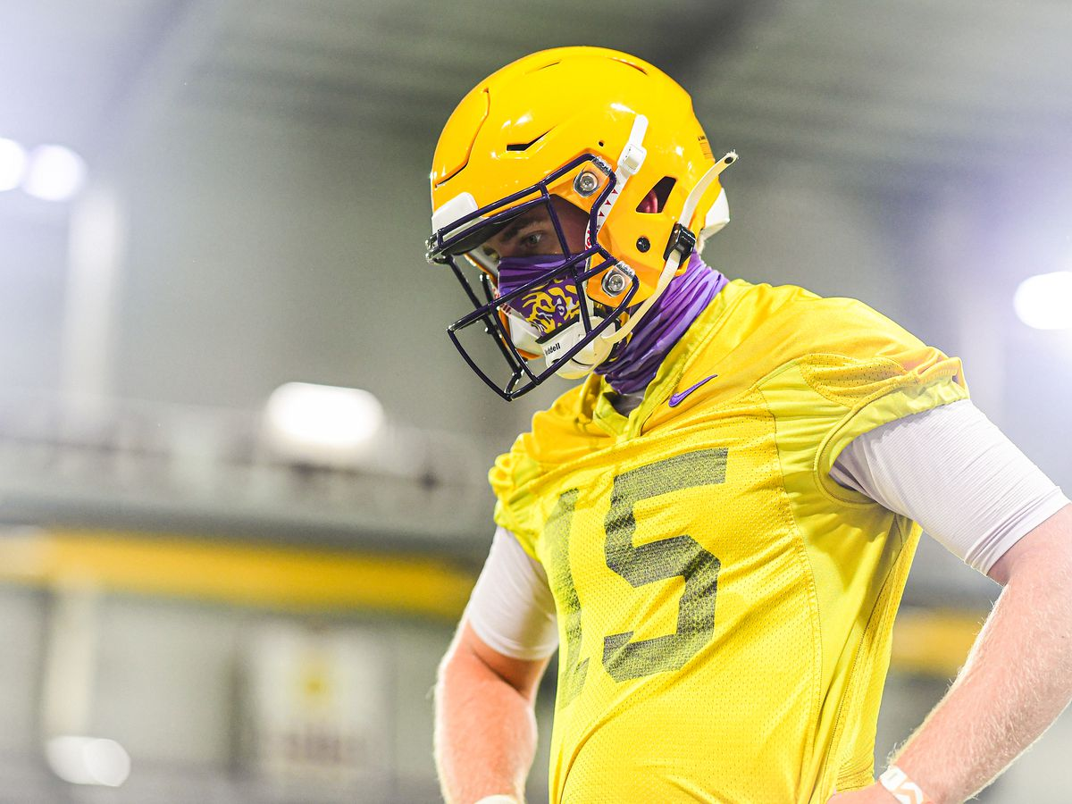 Myles Brennan ready to forge his own path as QB1 at LSU