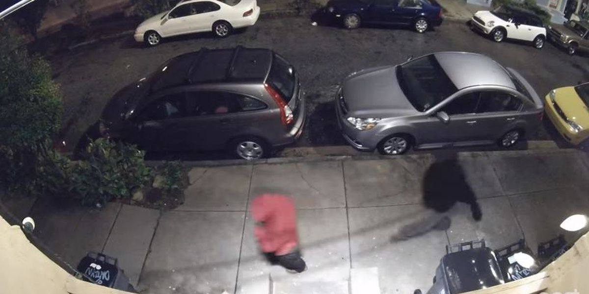 Video: Surveillance camera captures images of Marigny armed robbery suspects