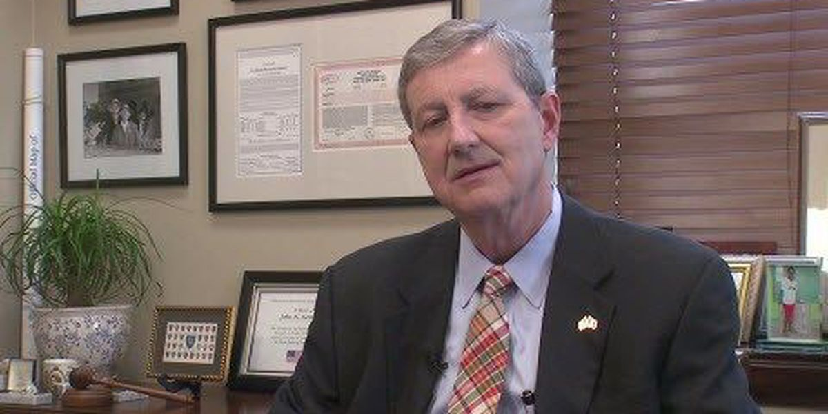 Sen. Kennedy weighs in on Trump comments, government shutdown
