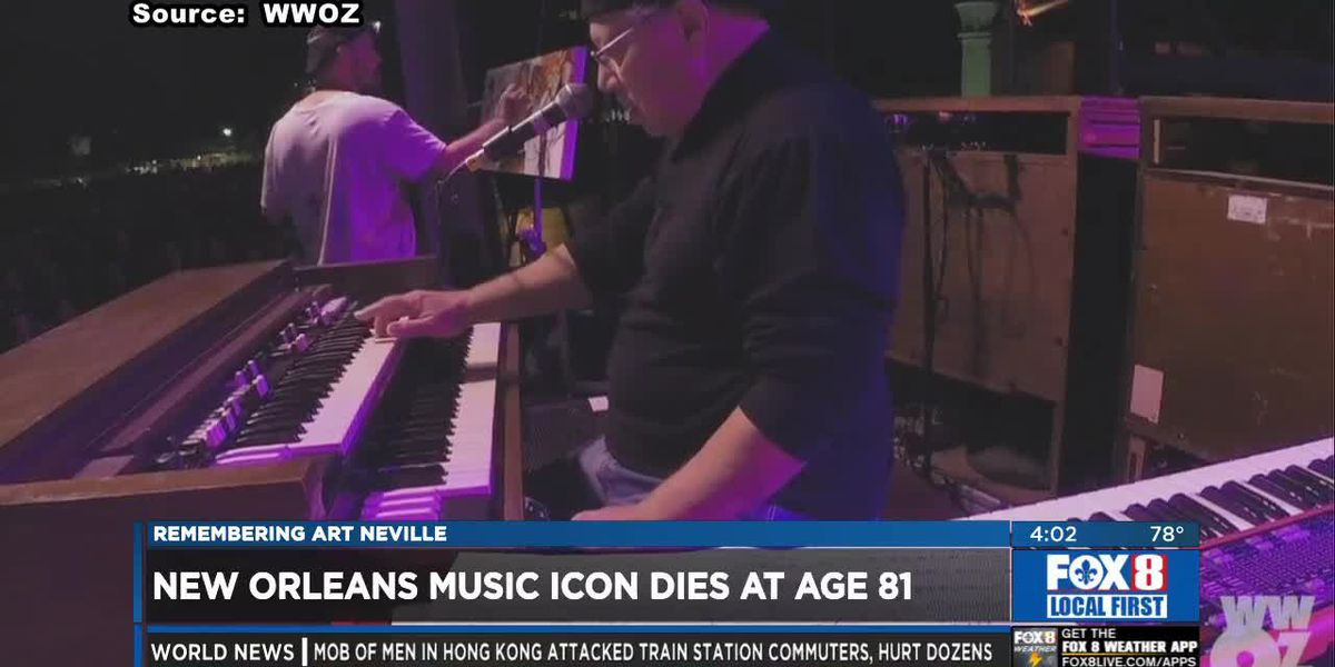 "Local musicians pay tribute to Art ""Poppa Funk"" Neville"
