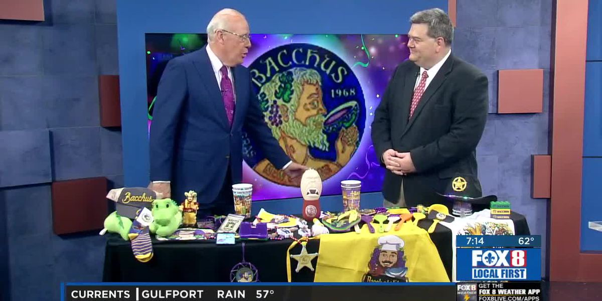 Krewe of Bacchus rolls Sunday