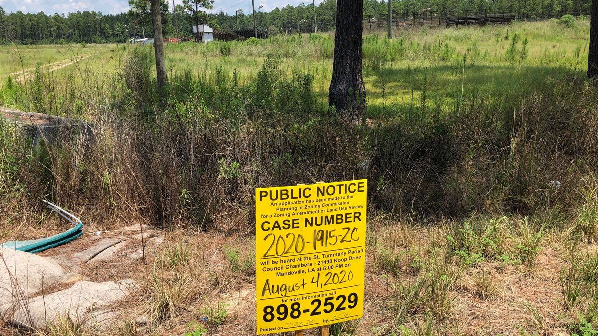 St. Tammany Zoning Commission tables controversial landfill proposal until Aug. 19