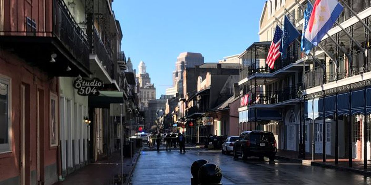 NOPD investigating officer involved shooting in the French Quarter