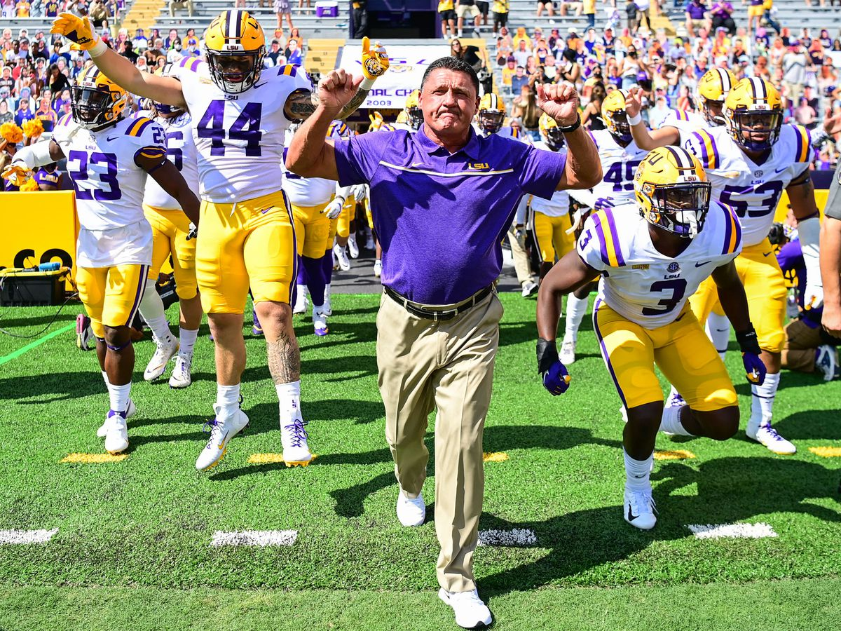 LSU football schedule for 2021 is out