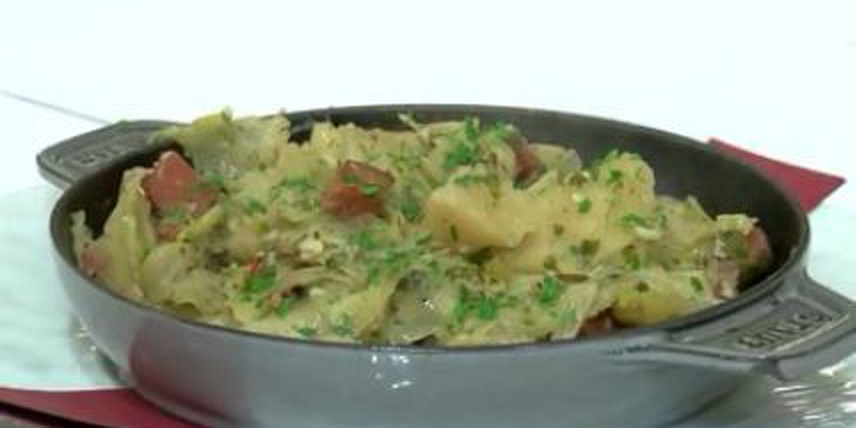Chef John Folse: Smothered cabbage Lake des Allemands