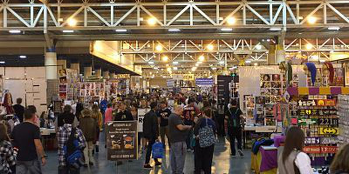 Comic book, science fiction lovers flock to New Orleans Comic Con