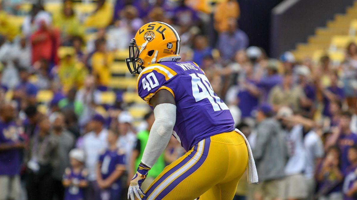 LSU LB Devin White announces he is entering NFL draft