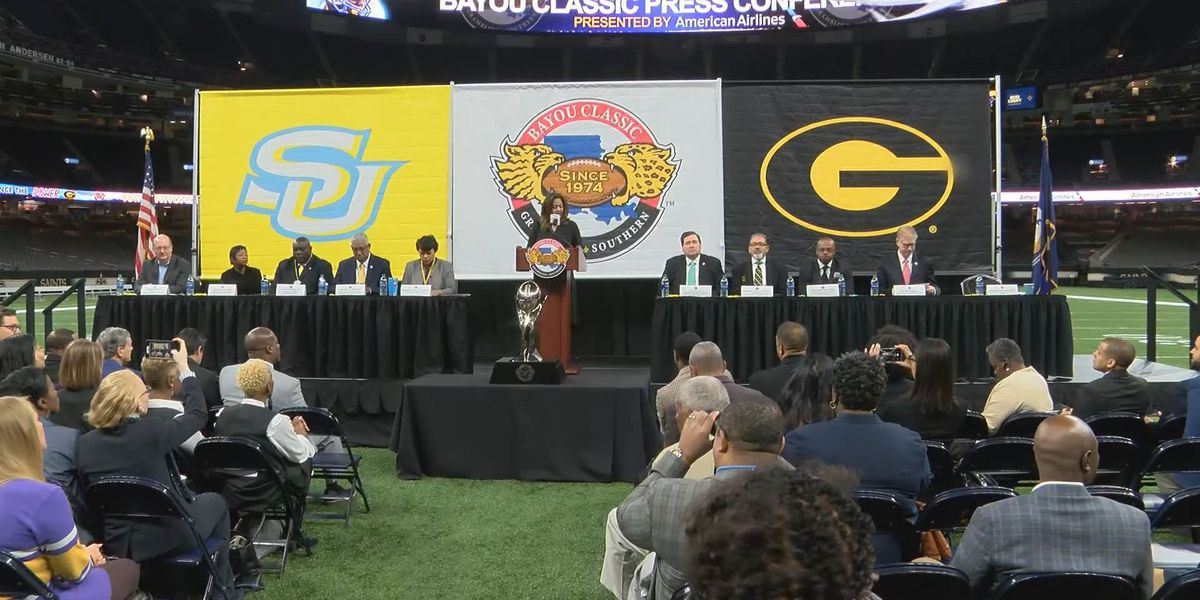 La. leaders, Southern and Grambling officials kick-off Bayou Classic week