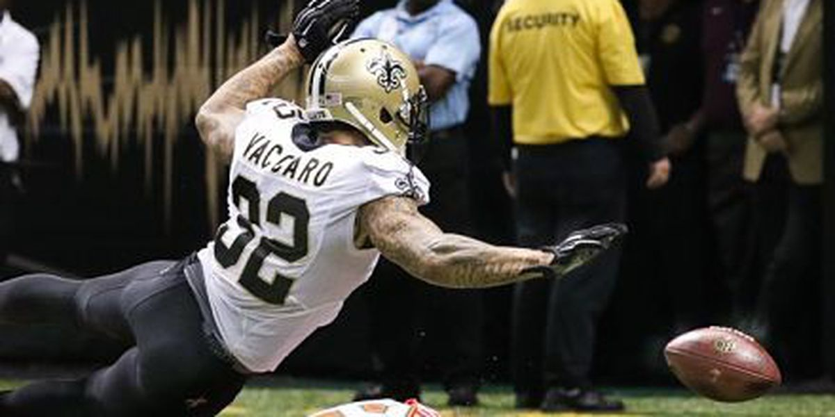 Saints lose Saints defense leader Kenny Vaccaro for season