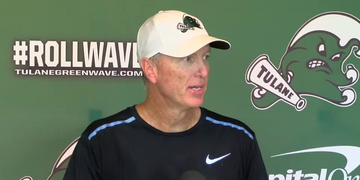 Coach Fritz previews Tulane's matchup with Auburn