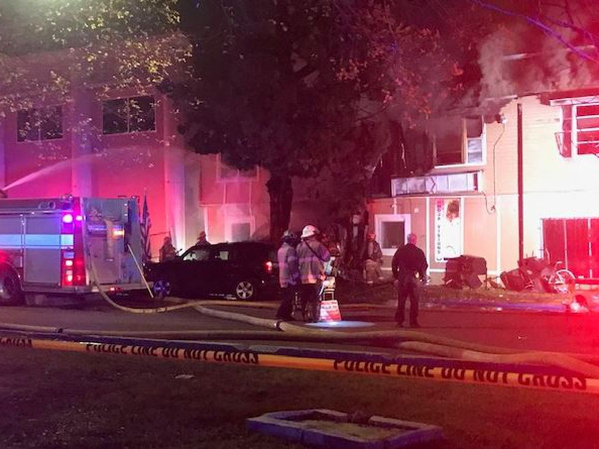 NOPD: 3 killed after car slams into Central City beauty salon, sparking 3-alarm fire