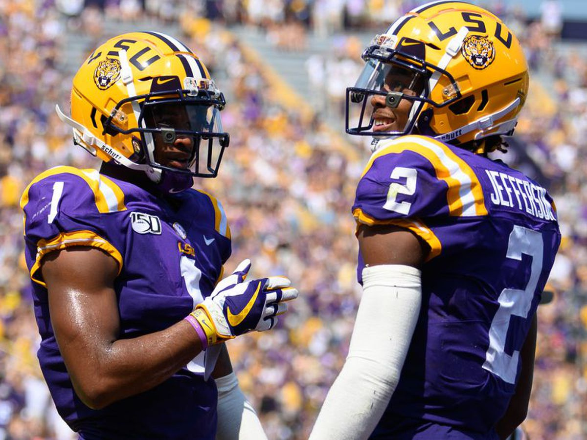 LSU wide receivers named Biletnikoff semifinalists