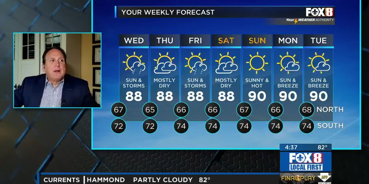 Bruce: Tuesday afternoon weather forecast
