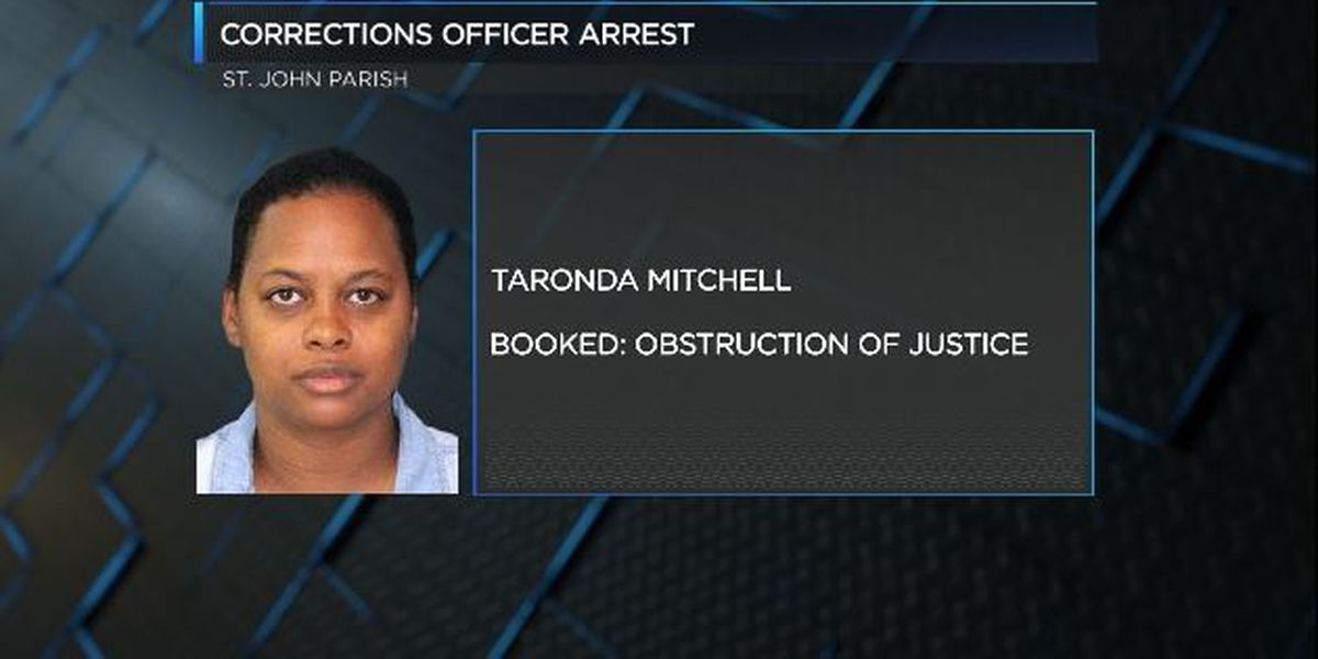 St. John corrections officer arrested, fired