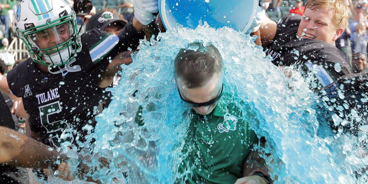 Tulane wins their first bowl game in 16 years